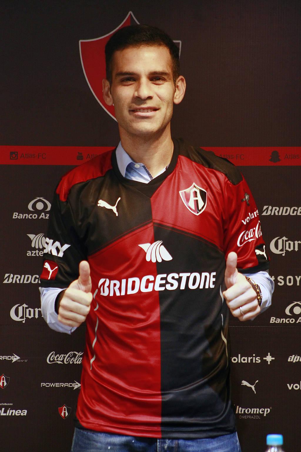 Rafa Márquez quiere ser campeón con los Rojinegros 4a9f3705d73