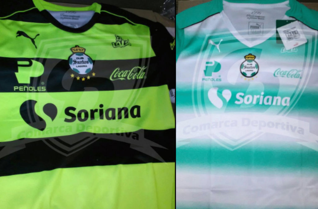 Filtran nuevos uniformes de Santos Laguna e43866c1644f0