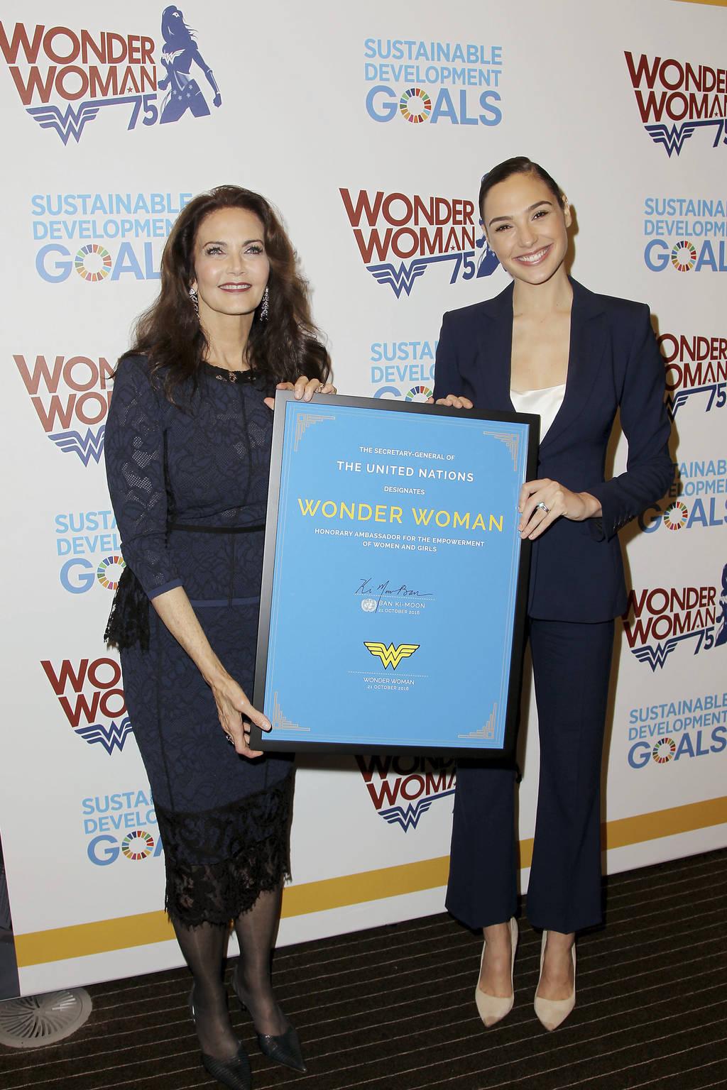 'Wonder Woman' ya es Embajadora