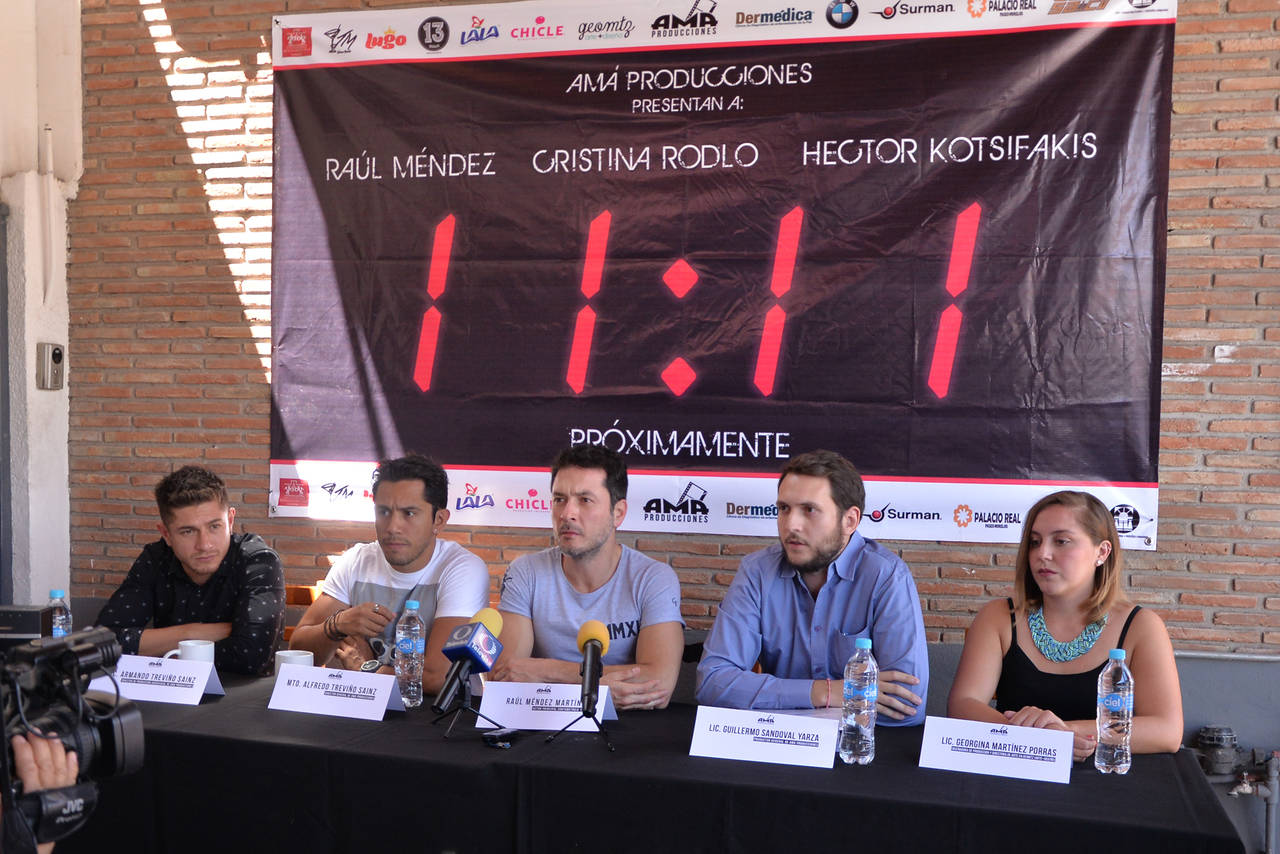 Cortometraje hace volver a Raúl Méndez a Torreón