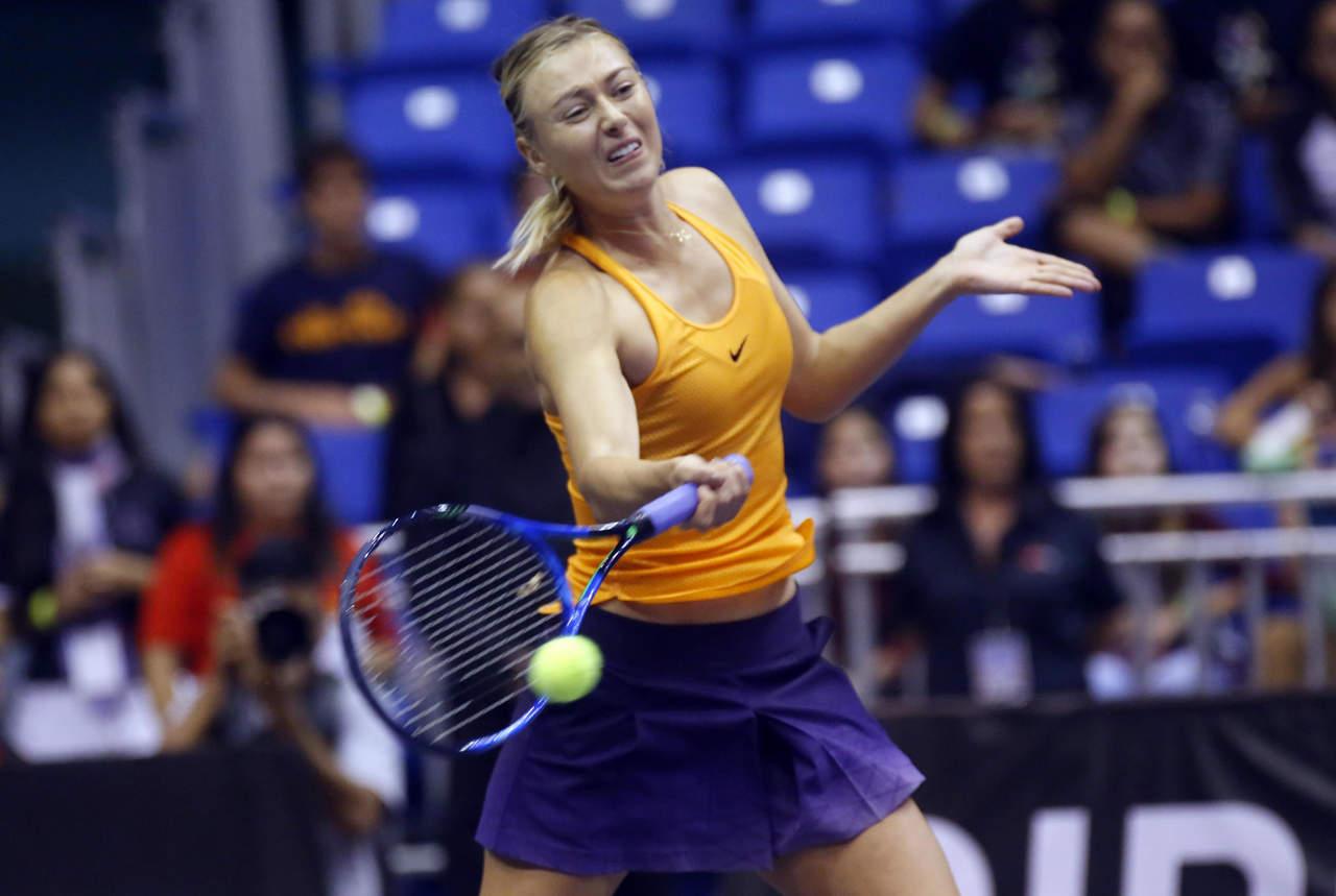Circuito Tenis : Maria sharapova regresa al circuito femenil de tenis en el