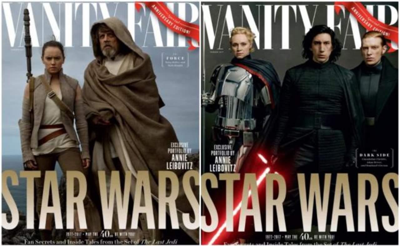 Reparto de 'Star Wars' acapara portada en revista