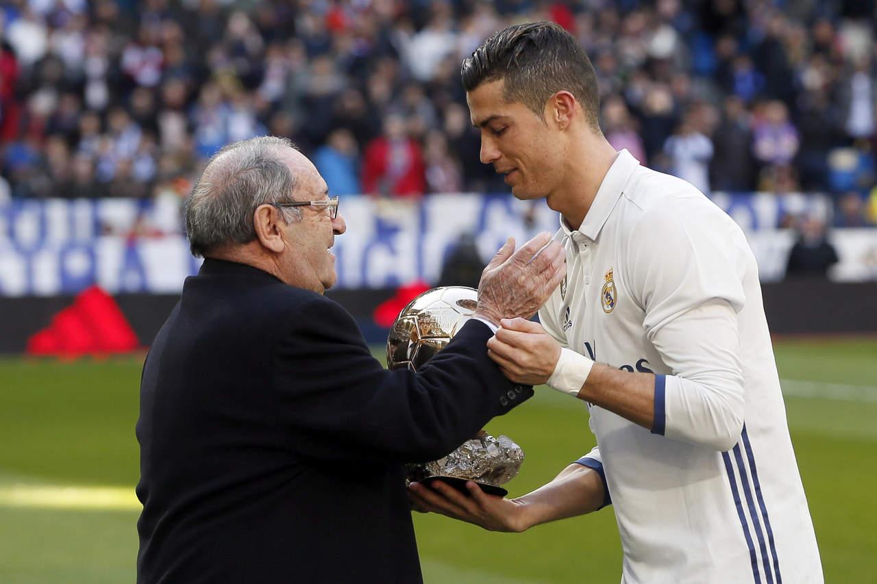 La leyenda Francisco Gento entrará al Sal³n de la Fama del futbol