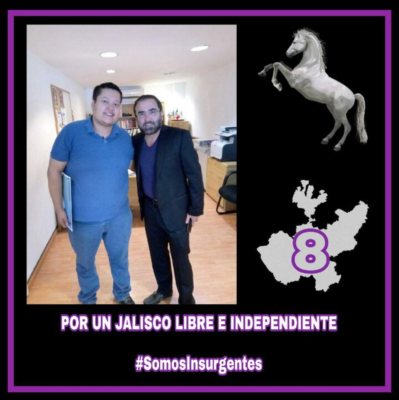 Va Vicente Fernández Jr. como candidato independiente por Jalisco