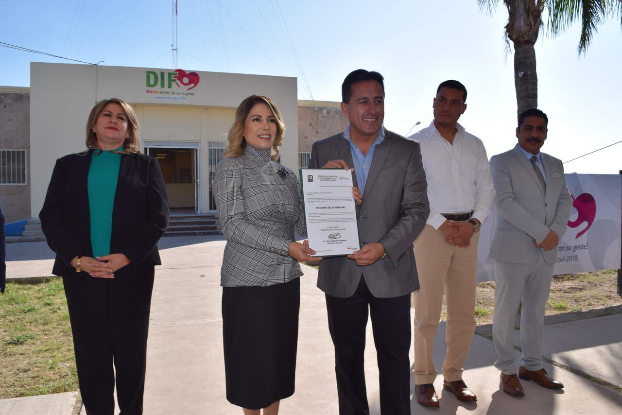 Toma protesta presidenta del DIF Matamoros a313a13686e8a