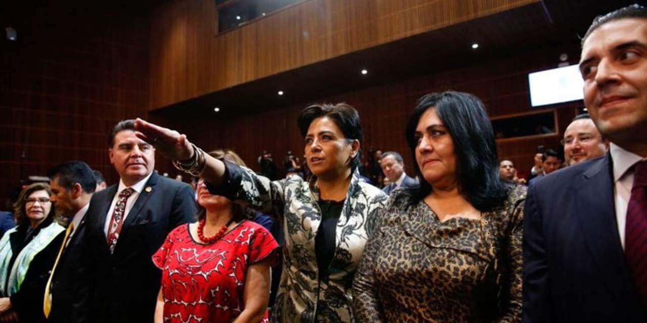 Rinde protesta Irene Espinosa como subgobernadora de Banxico. Noticias en tiempo real