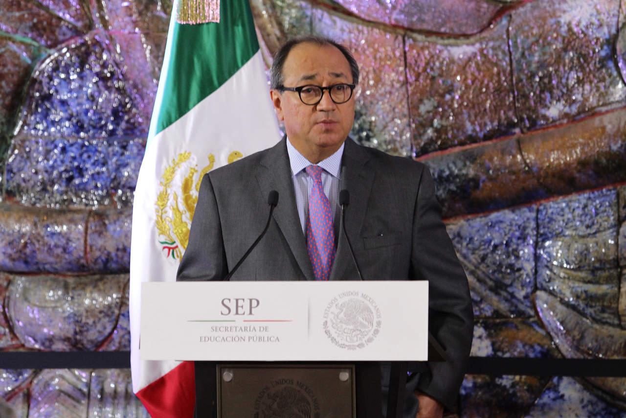 Titular de la SEP pide a secretarios locales dejar instituciones ordenadas. Noticias en tiempo real