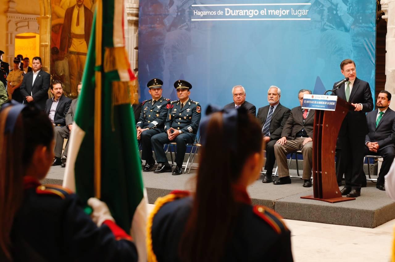 Celebra Durango 105 años de la Marcha por la Lealtad . Noticias en tiempo real