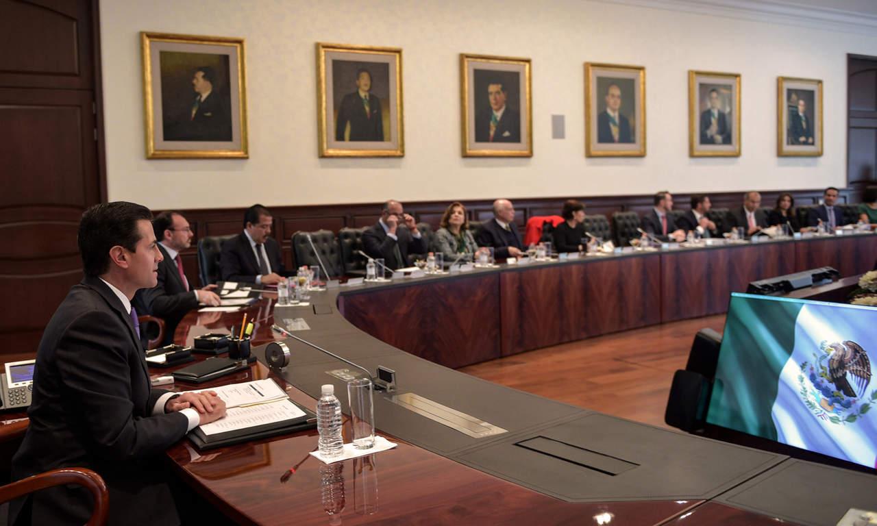 Pide EPN a gabinete vigilar y cumplir con la ley electoral. Noticias en tiempo real