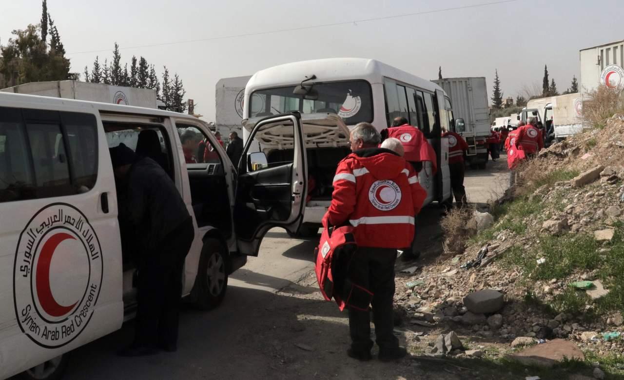Primer convoy humanitario entra en Guta Oriental. Noticias en tiempo real