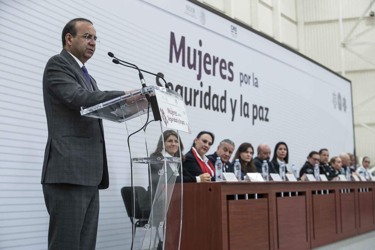 Reconoce Navarrete Prida déficit en el Estado de derecho. Noticias en tiempo real