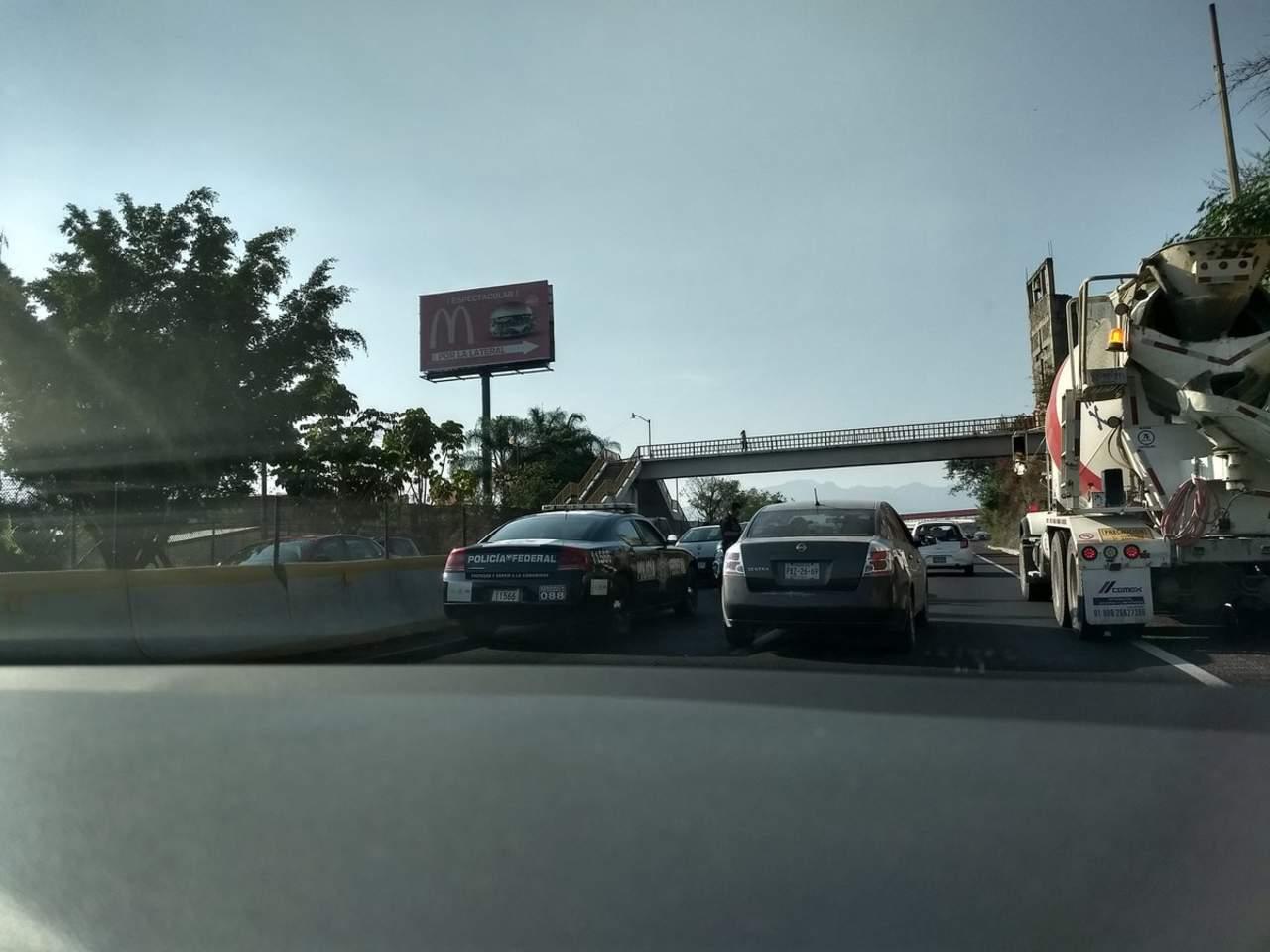 Carretera a Cuernavaca, la que registra más salidas de automóviles. Noticias en tiempo real