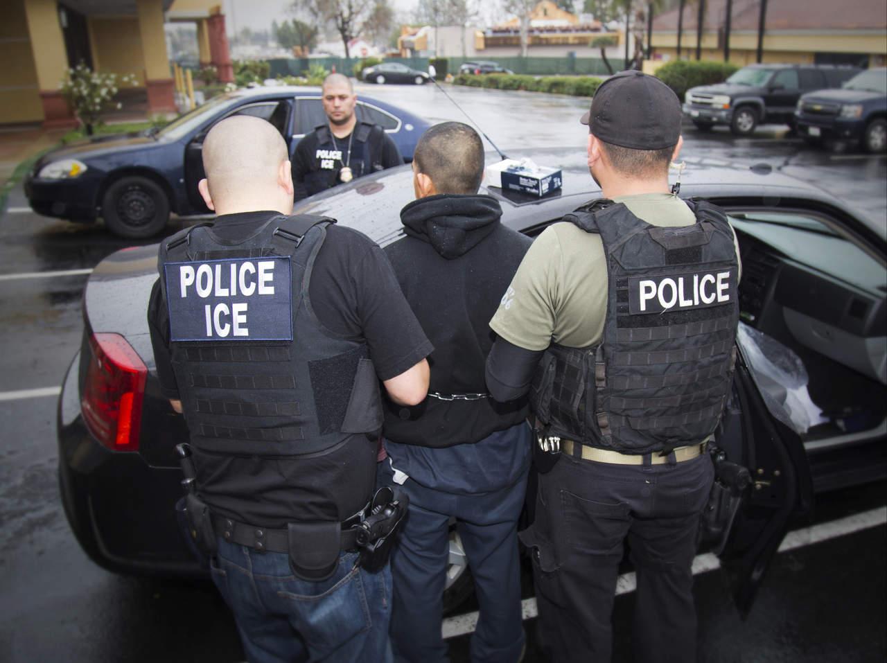 Migración de EU detiene a 59 inmigrantes mexicanos. Noticias en tiempo real