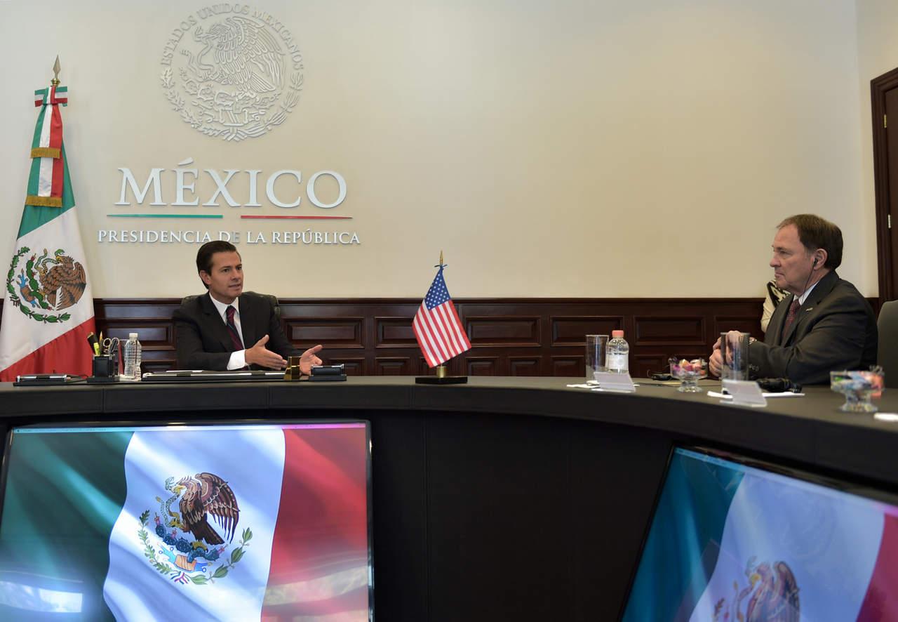 Relación con EU debe ser soberana y digna, reitera Peña Nieto. Noticias en tiempo real