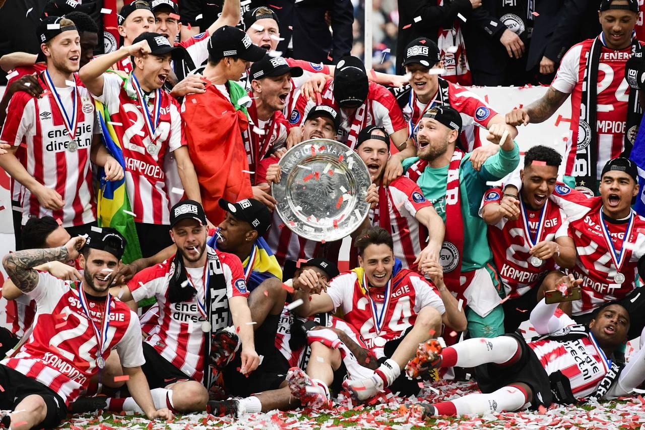 PSV Eindhoven logra campeonato de Eredivisie