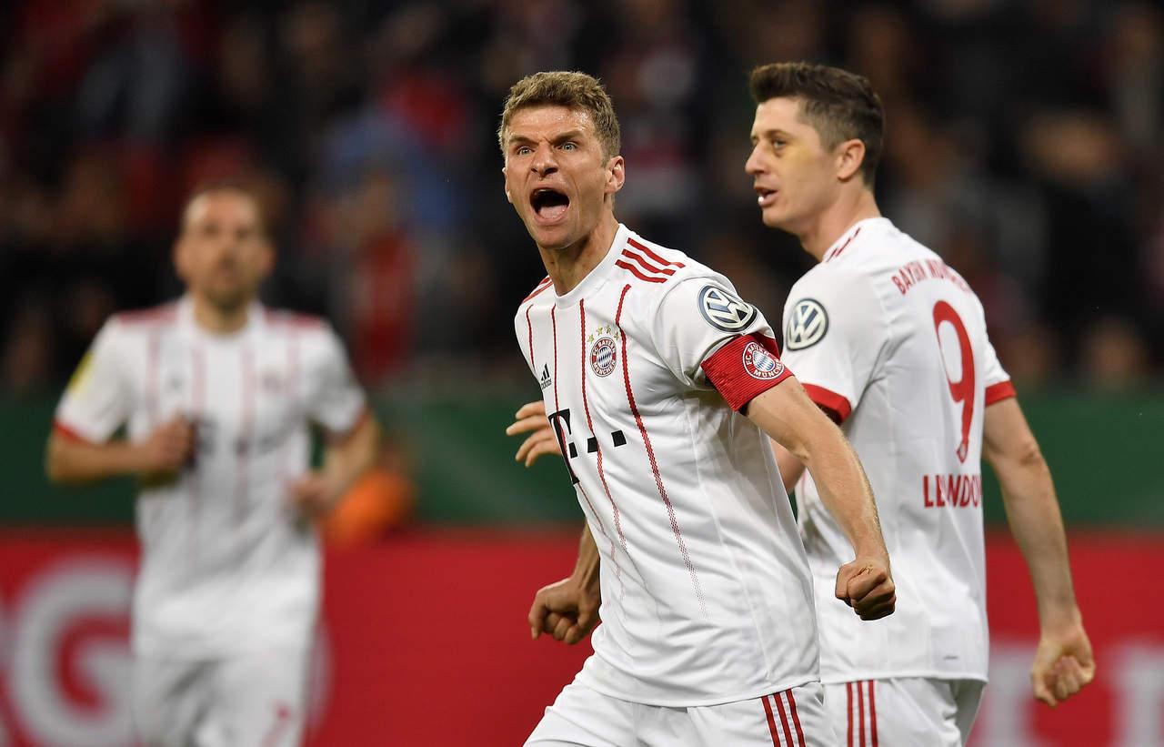 Bayern avanza a la final de Copa tras paliza al Leverkusen. Noticias en tiempo real