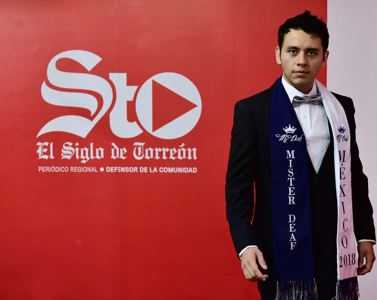 'La única discapacidad que existe es el miedo', dice Bruno Ramírez