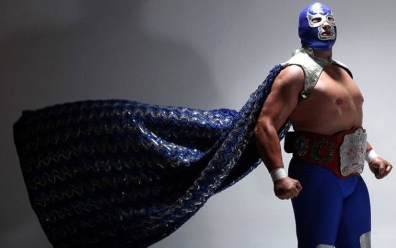Blue Demon Jr. engrandece la leyenda azul