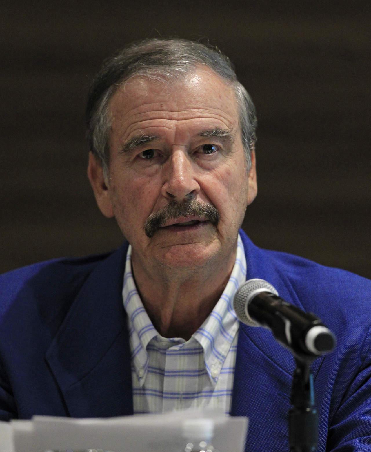 Vicente Fox cuestiona a Obrador sobre las pensiones. Noticias en tiempo real