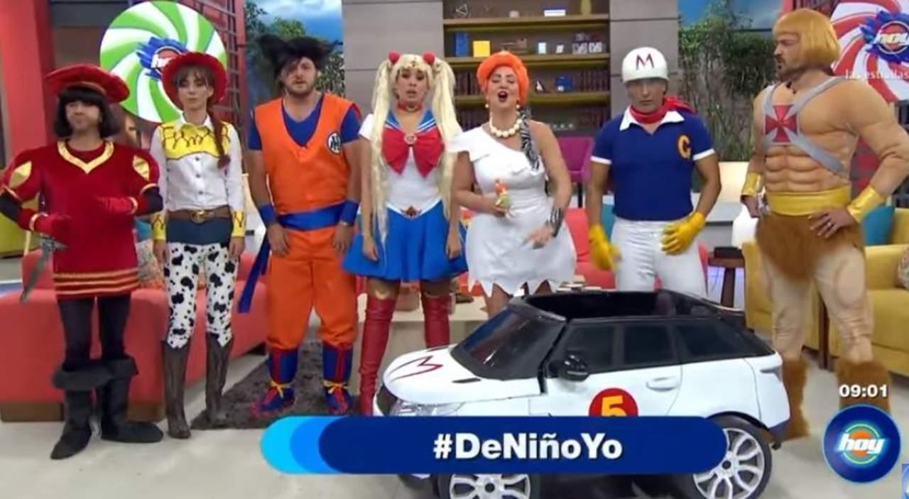 Critican al elenco de hoy por sus disfraces de d a del ni o for Espectaculos del dia de hoy en mexico