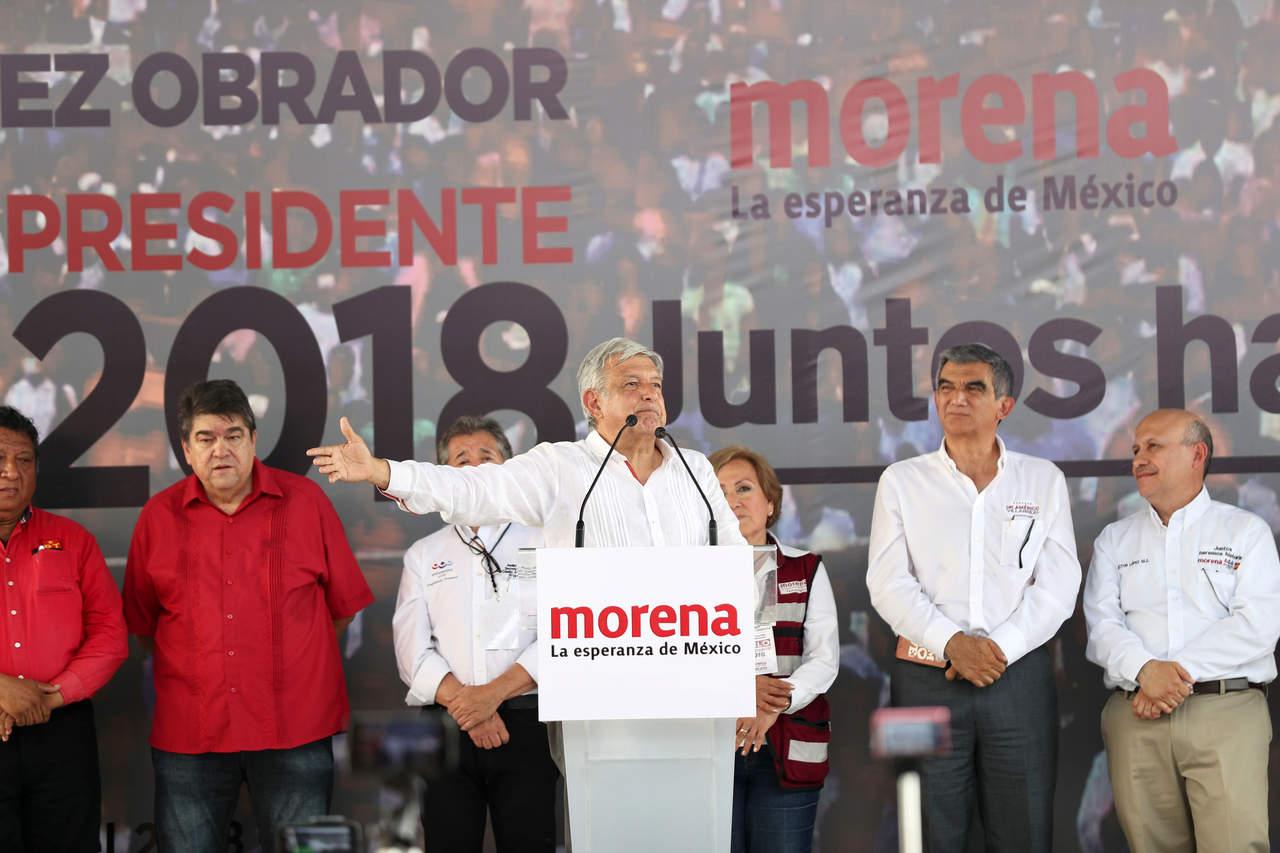 Estrategia Meade-Anaya fracasará: López Obrador. Noticias en tiempo real