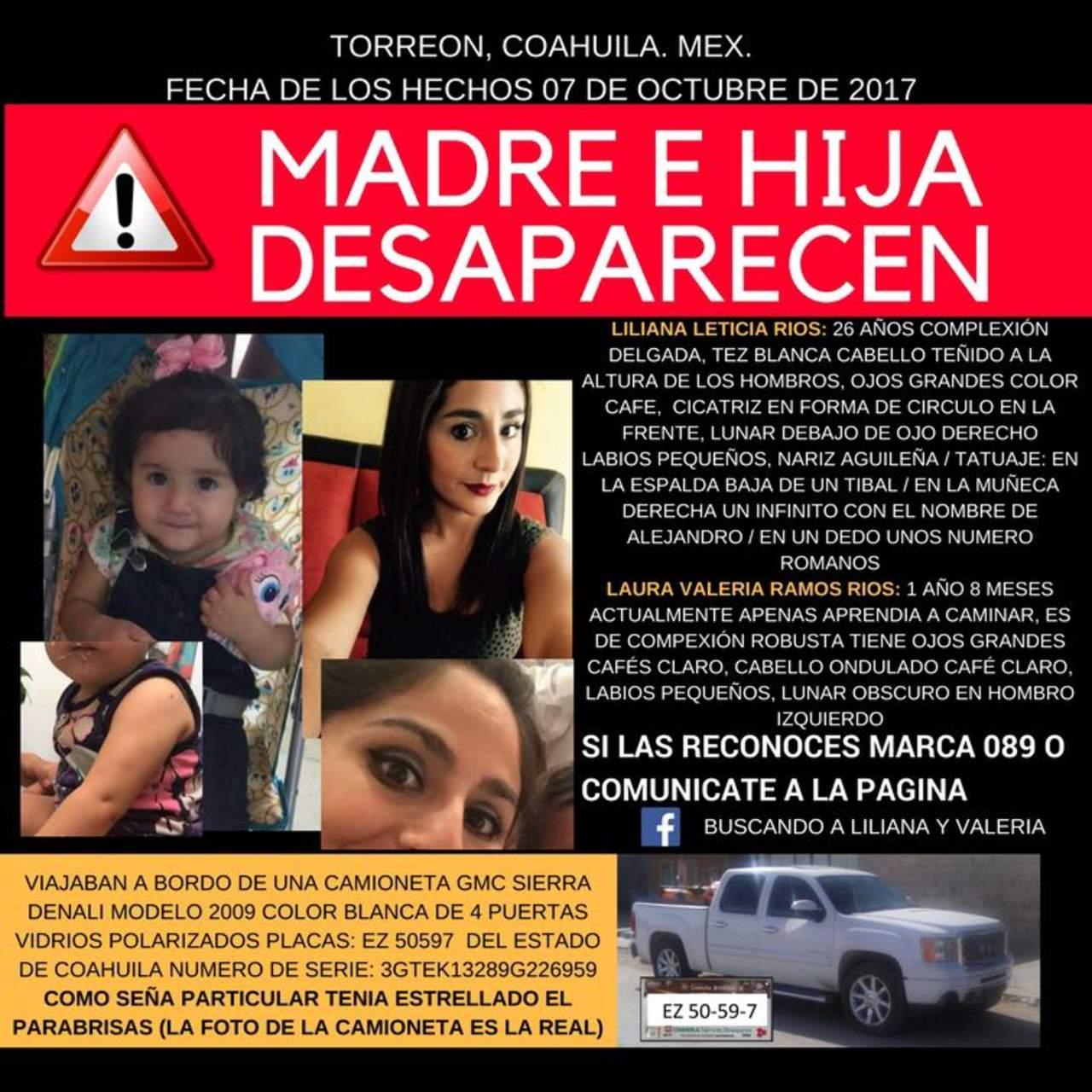 Invitan a marcha para exigir la aparición con vida de madre e hija. Noticias en tiempo real
