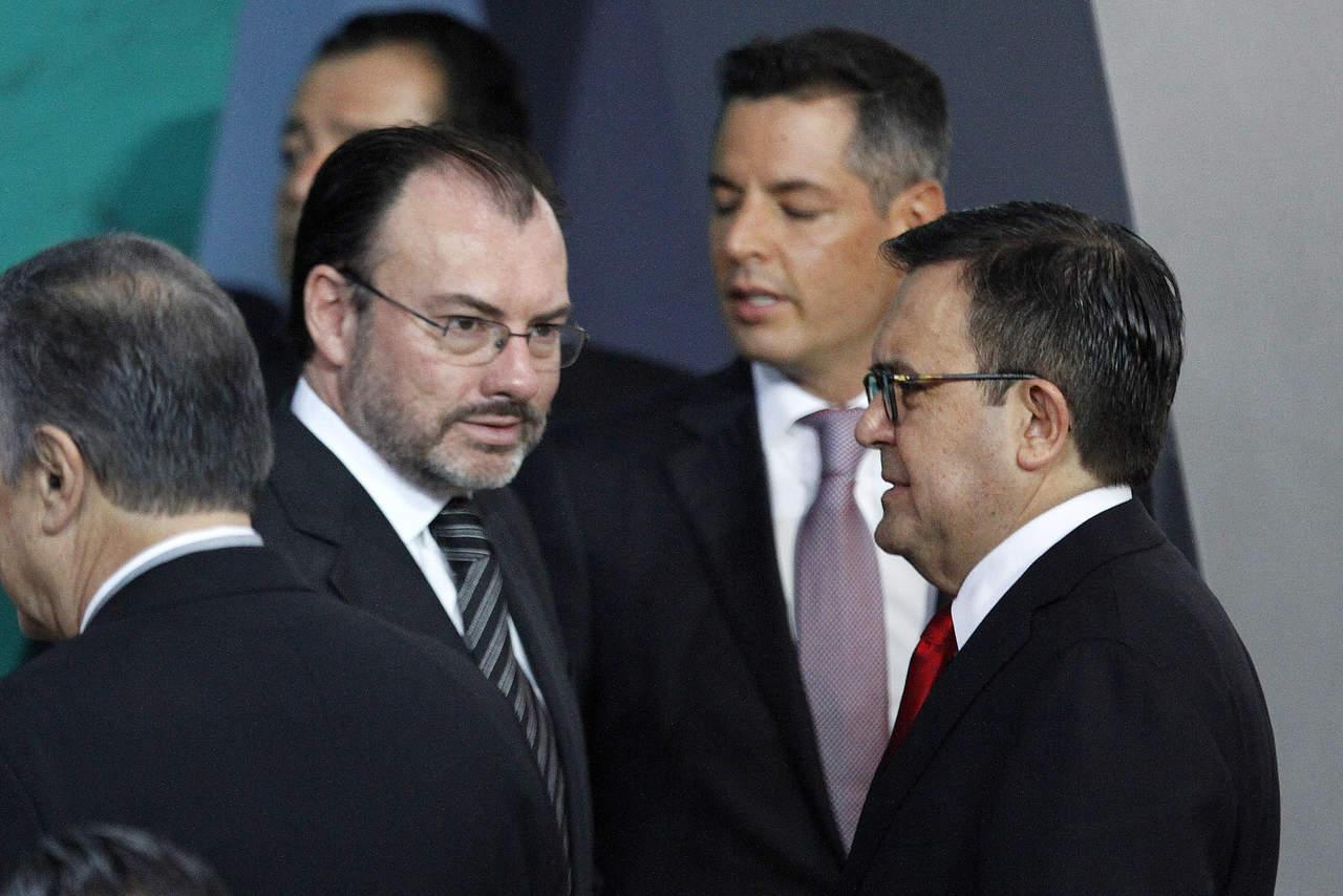 Videgaray y Guajardo van a EU, darán seguimiento a TLCAN. Noticias en tiempo real