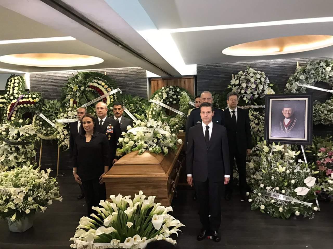 Acude Peña Nieto a velorio de Jesús Kumate. Noticias en tiempo real