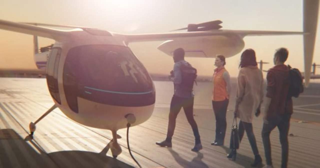 Uber da a conocer prototipo de taxi aéreo eléctrico para 2028. Noticias en tiempo real
