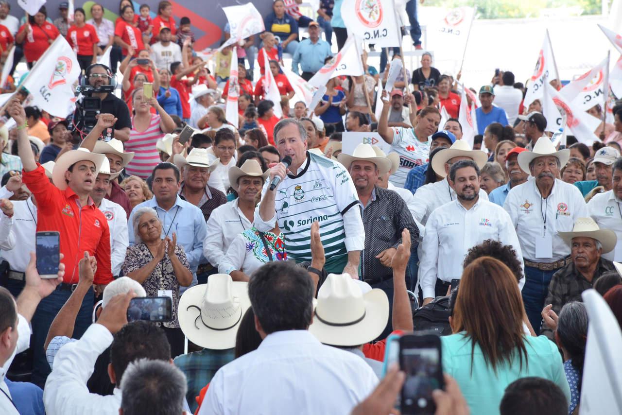 Cada que gana Santos, el PRI gana la Presidencia: Meade. Noticias en tiempo real
