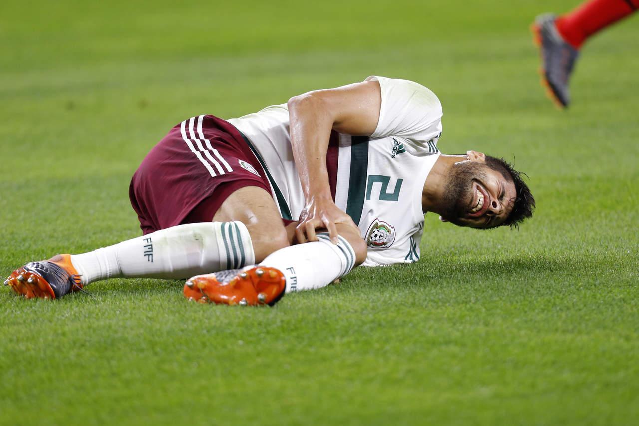 Araujo dice adiós al Mundial. Noticias en tiempo real