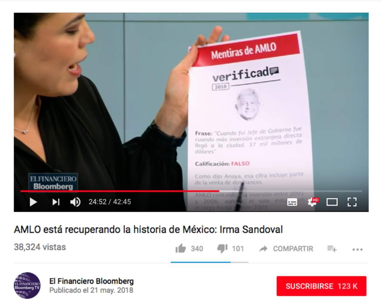 Tatiana Clouthier difunde datos falsos sobre inversión extranjera y Mariana Gómez del Campo manipula información. Noticias en tiempo real