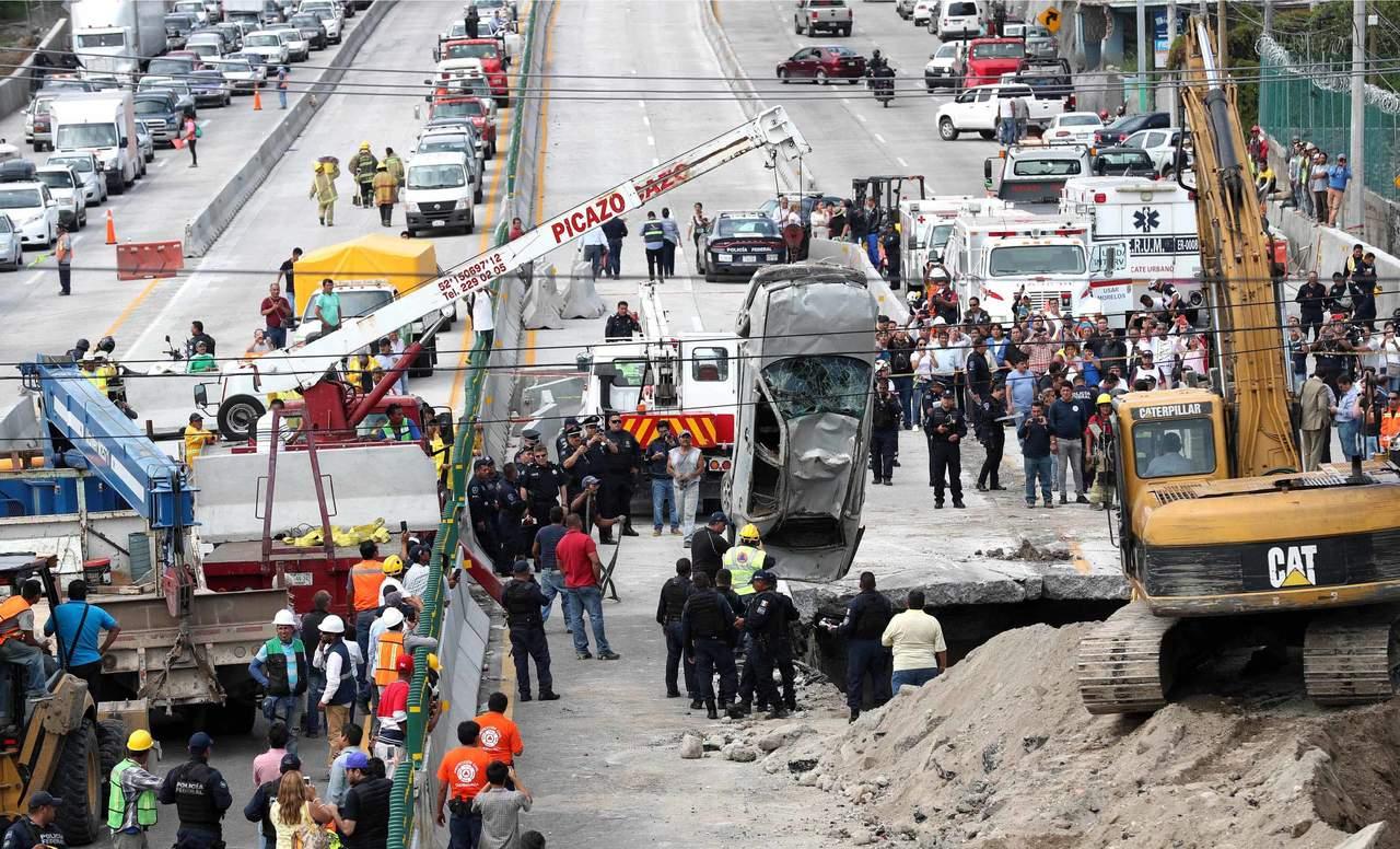 En junio, sanciones por socavón de Paso Express: SFP. Noticias en tiempo real