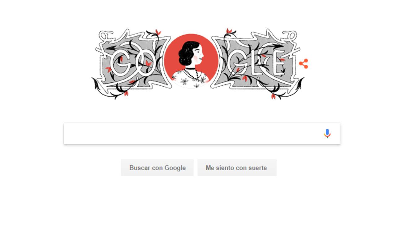 Hermila Galindo, la mujer lagunera del doodle de Google. Noticias en tiempo real