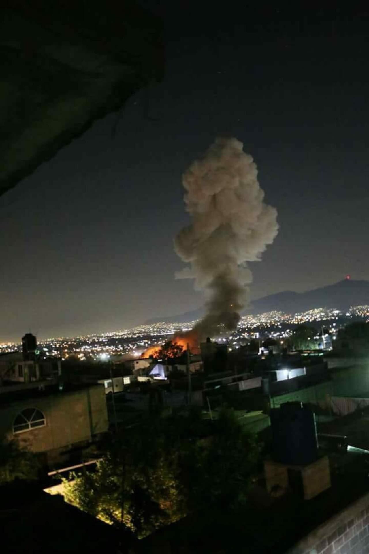 Reportan al menos 4 heridos por explosión en Tultepec. Noticias en tiempo real