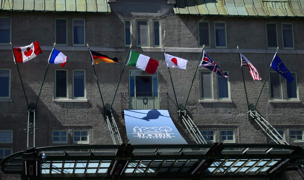 Arranca cumbre del G7 empañada por guerra comercial desatada por EU. Noticias en tiempo real