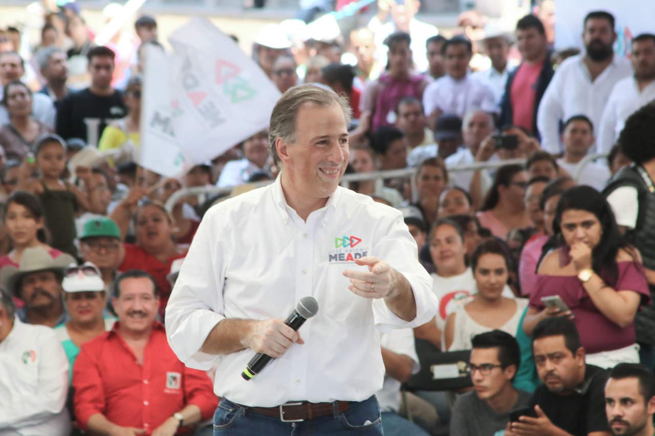 Meade llega a Mérida para alistar participación en debate. Noticias en tiempo real