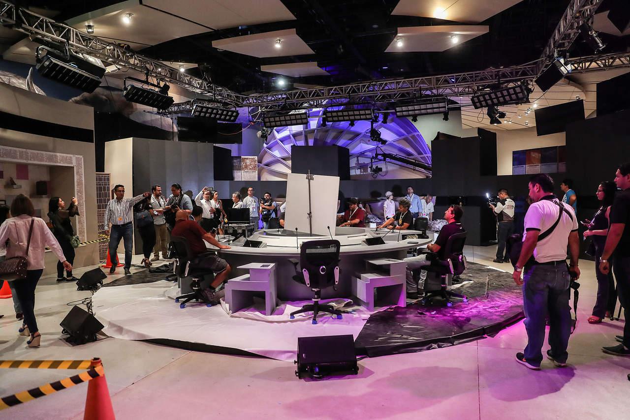 Transmitirán el tercer debate presidencial. Noticias en tiempo real