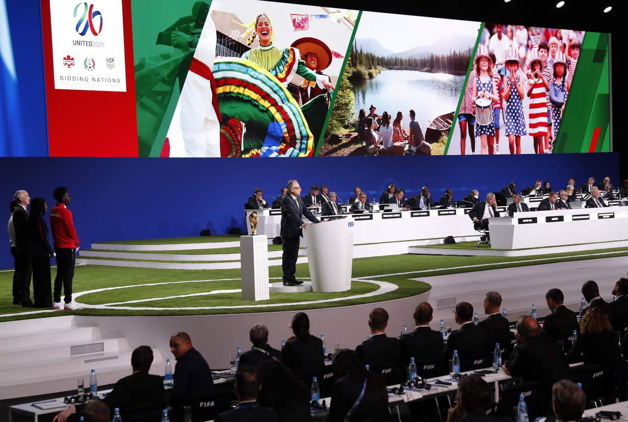 Mundial de 2026 será en México, Canadá y EU. Noticias en tiempo real