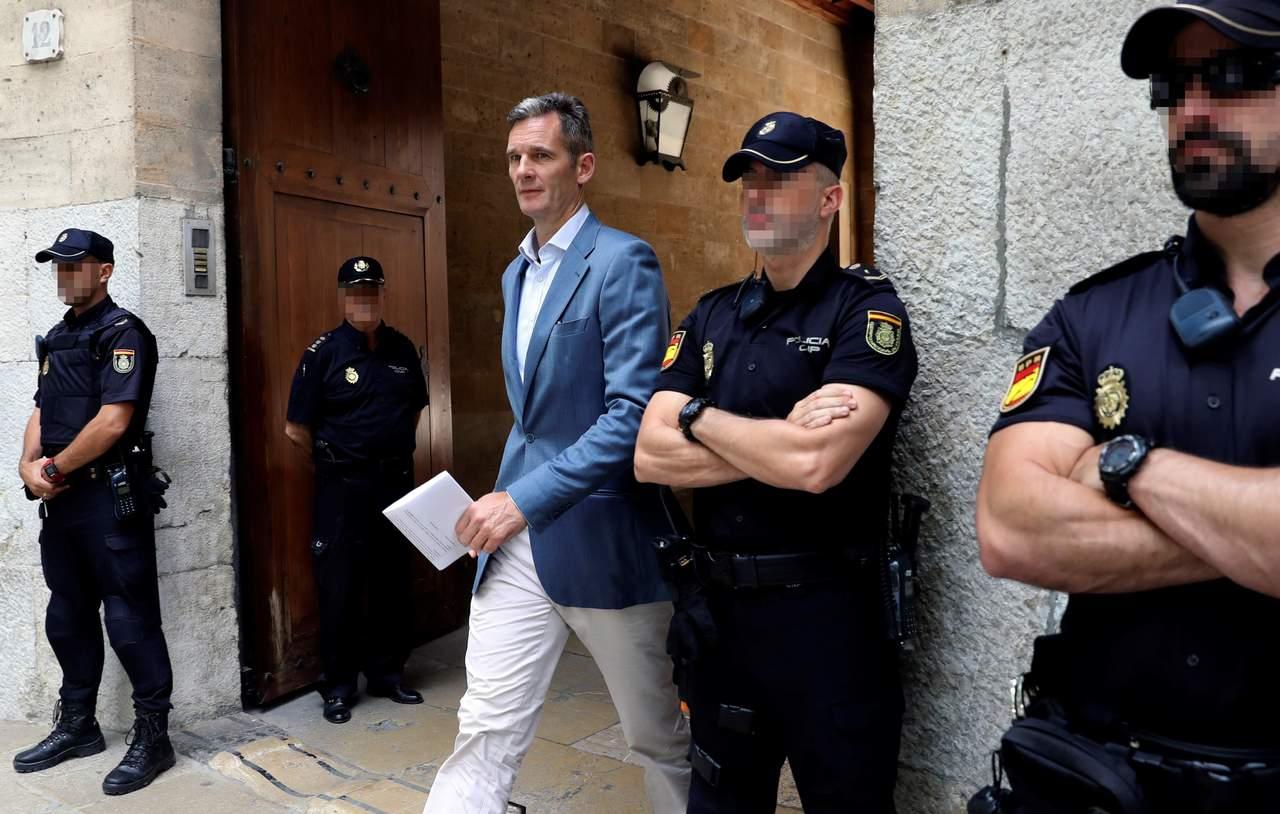 Dan 5 días al cuñado del rey de España para iniciar condena. Noticias en tiempo real