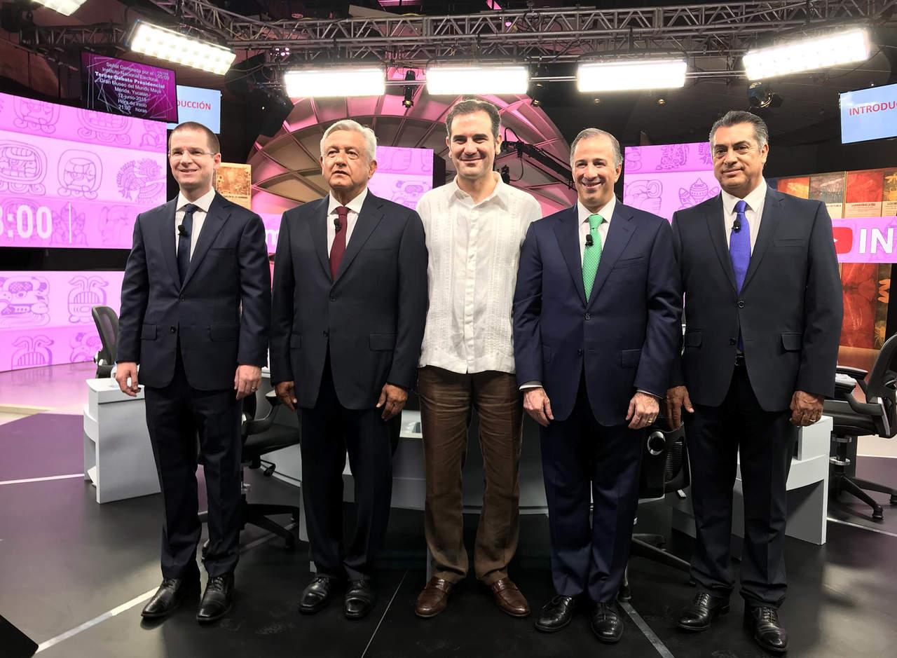 Unas 10.7 millones de personas vieron el tercer debate: INE. Noticias en tiempo real