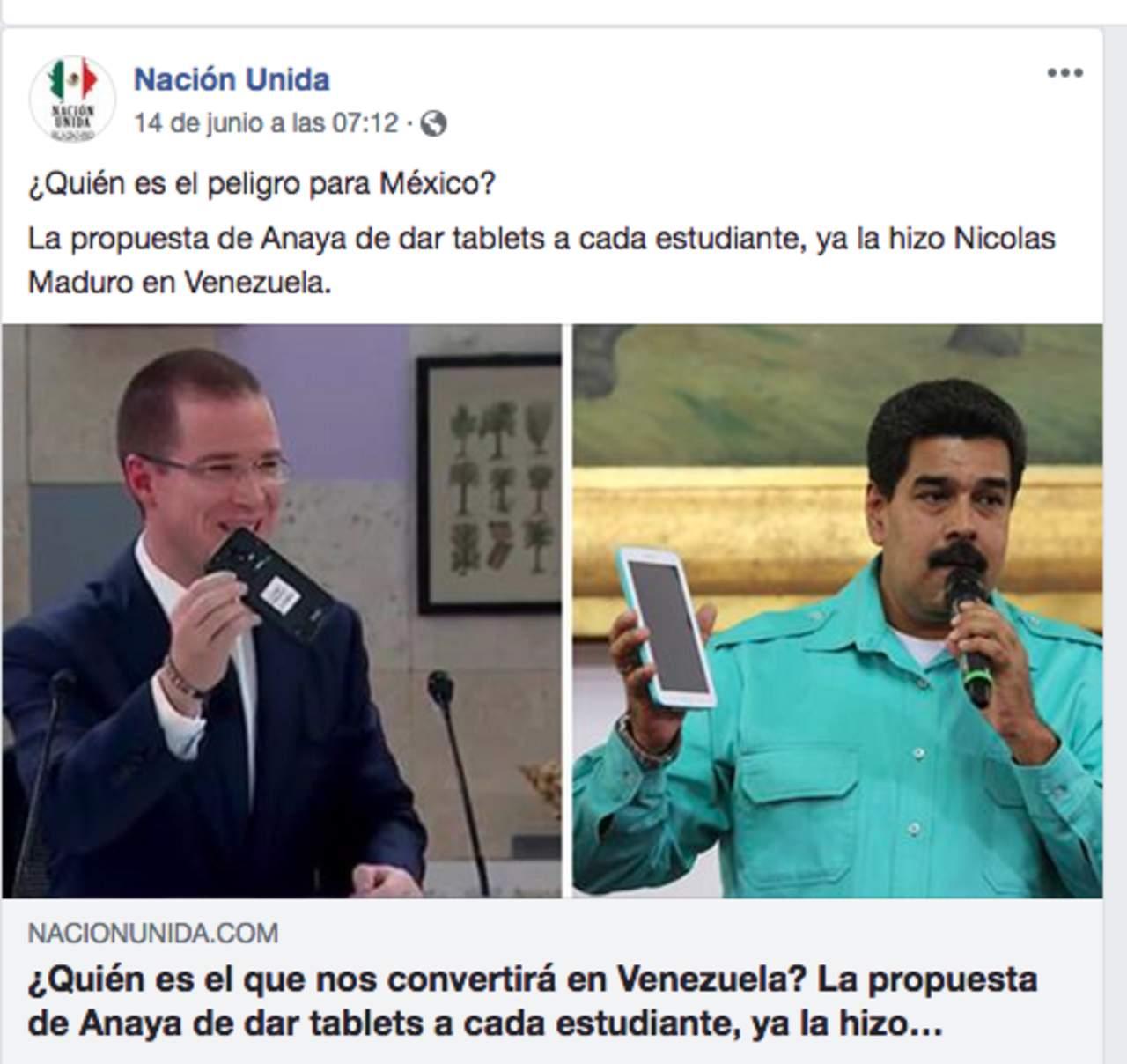 #EstoSíPasó: Ahora acusan a Anaya de copiar propuestas de Maduro. Noticias en tiempo real