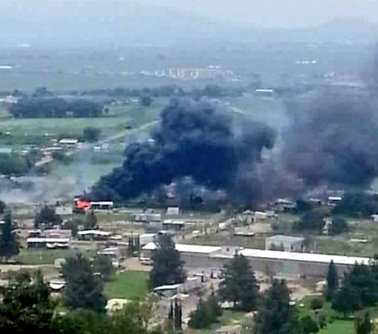 Reportan explosión en Tultepec. Noticias en tiempo real