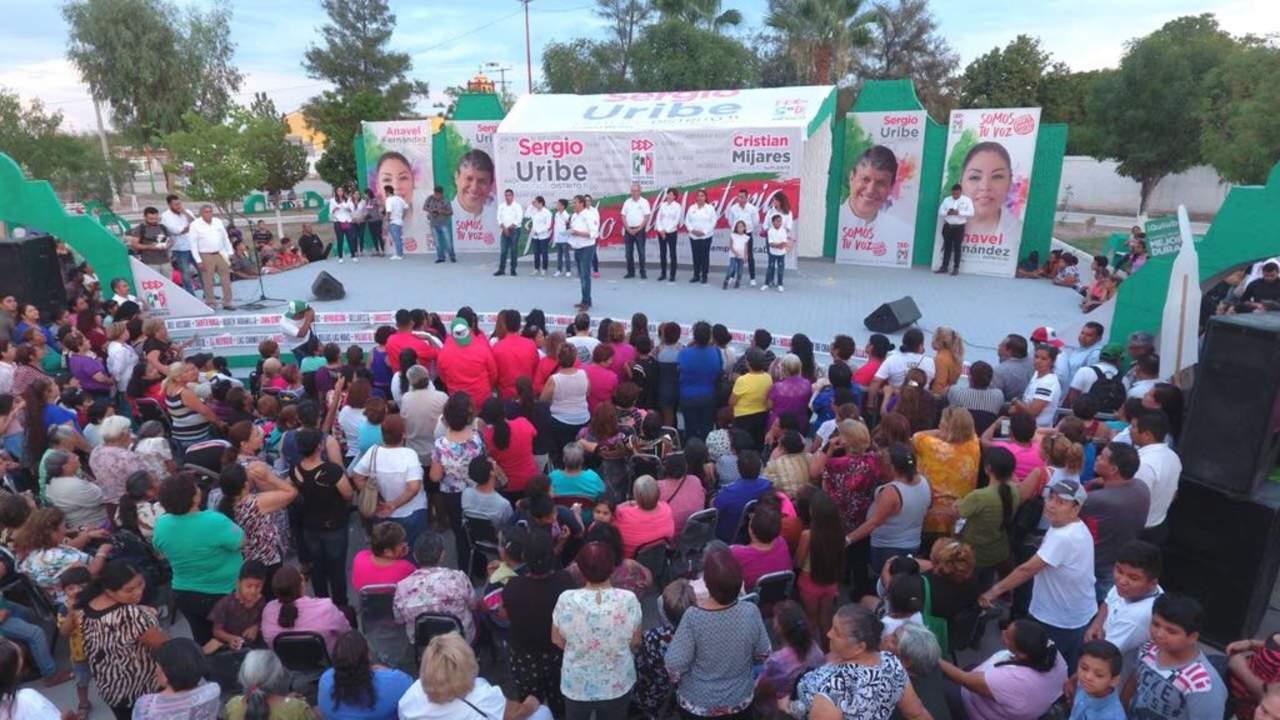 Cierra campaña candidato Sergio Uribe. Noticias en tiempo real