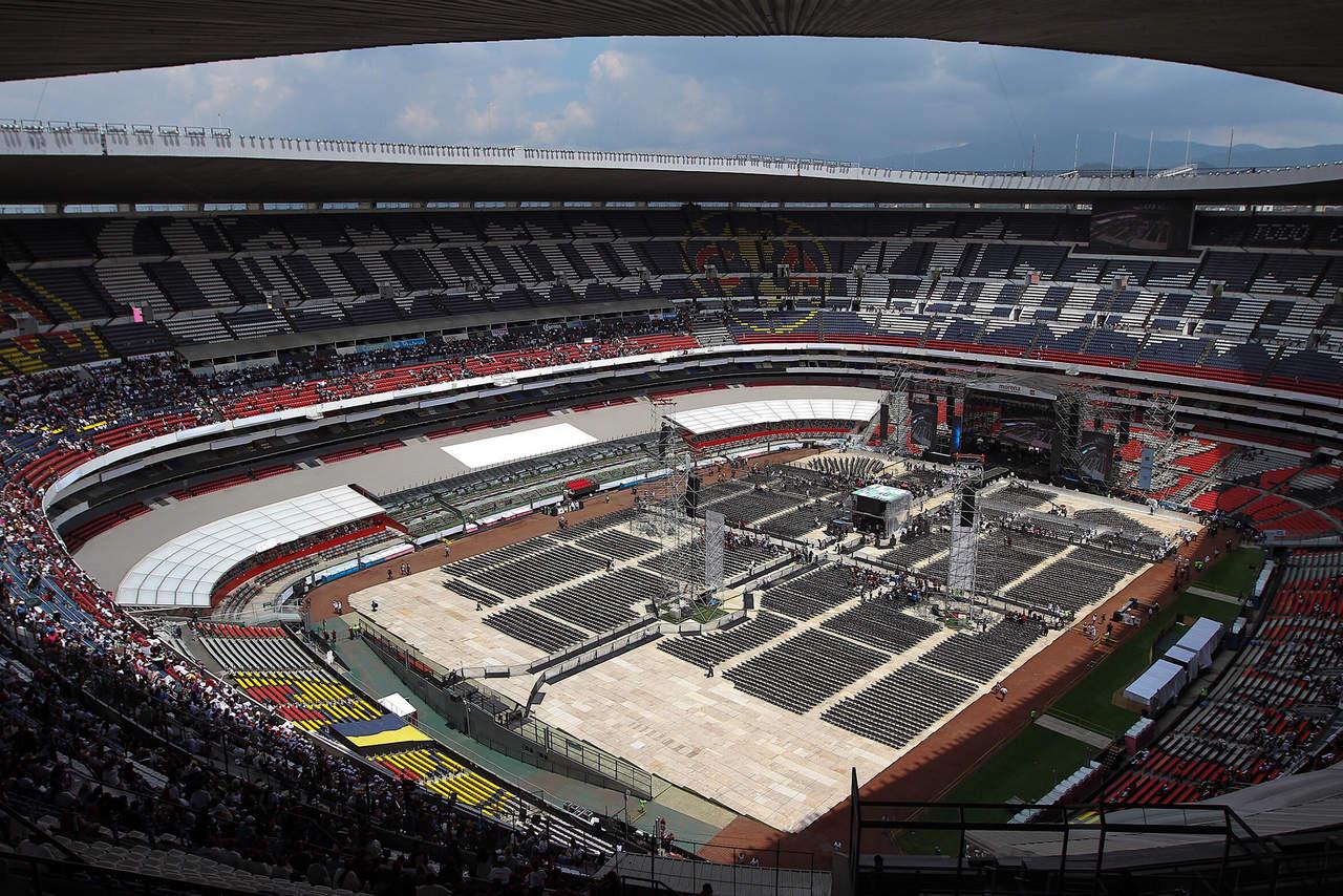 AMLOfest causa tránsito lento en inmediaciones del Estadio Azteca. Noticias en tiempo real