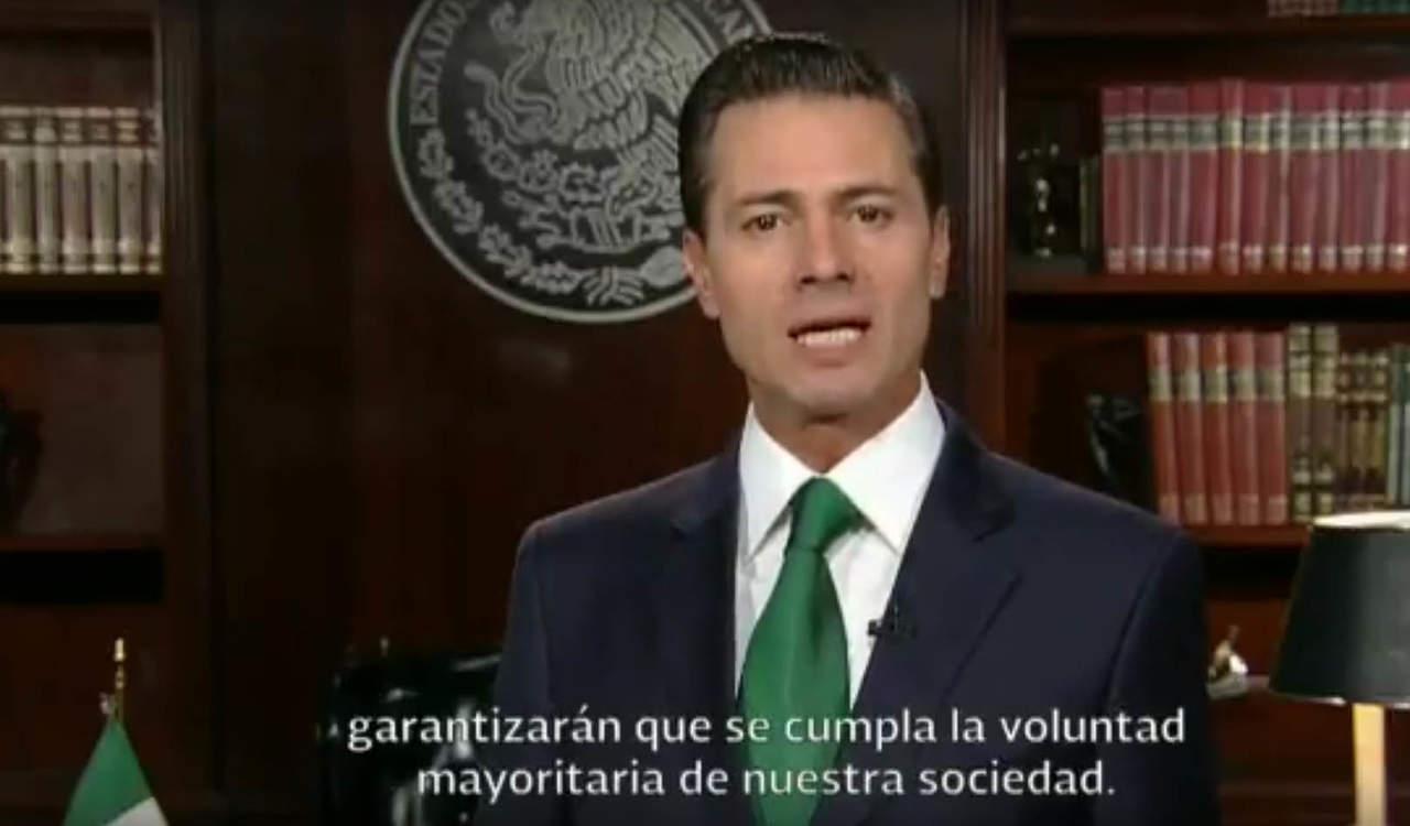 Peña Nieto reconoce resultados de conteo rápido que dan triunfo a AMLO. Noticias en tiempo real