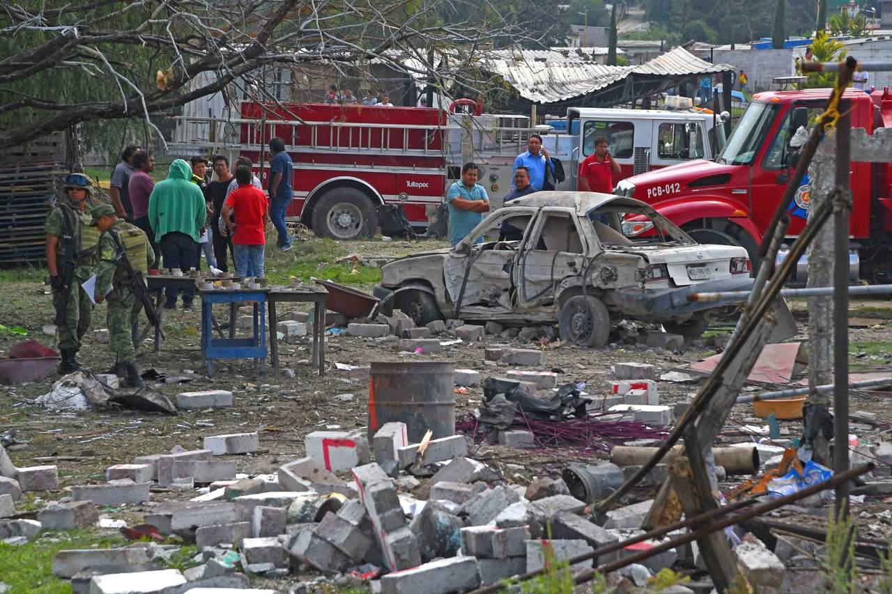 Lamenta EPN muertes por explosiones en Tultepec. Noticias en tiempo real