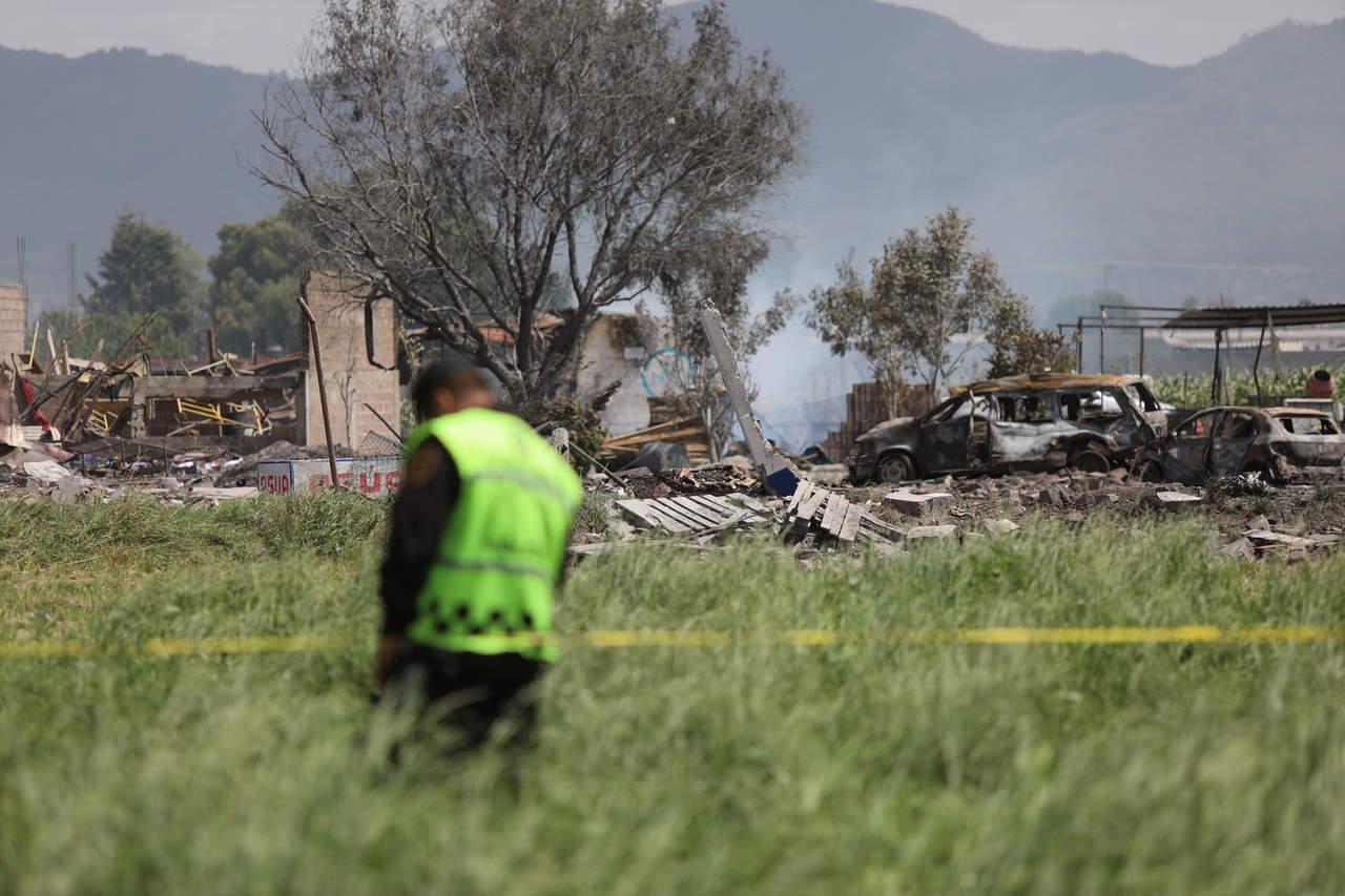 Habrá revisión exhaustiva tras explosión en Tultitlán: Luis Felipe Puente. Noticias en tiempo real