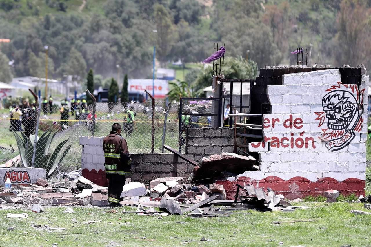 Se eleva a 24 el número de muertos por explosiones en Tultepec. Noticias en tiempo real