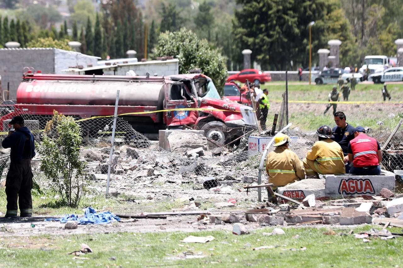 Pide CNDH evitar que se repita explosión en Tultepec. Noticias en tiempo real